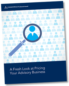 Pricing Your Advisory Business