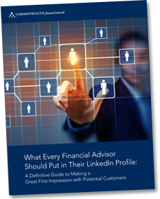 What every financial advisor should put in their LinkedIn profile