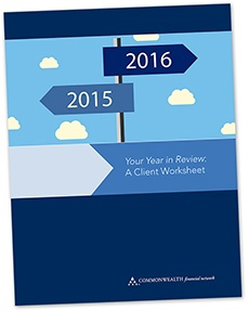 Your Year In Review: A Client Worksheet