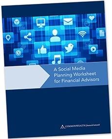 Social Media Planning Worksheet for Financial Advisors